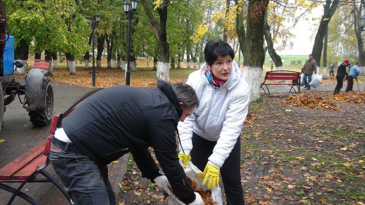 Нагенеральную уборку Владимира вышли практически 24 тысячи городских жителей