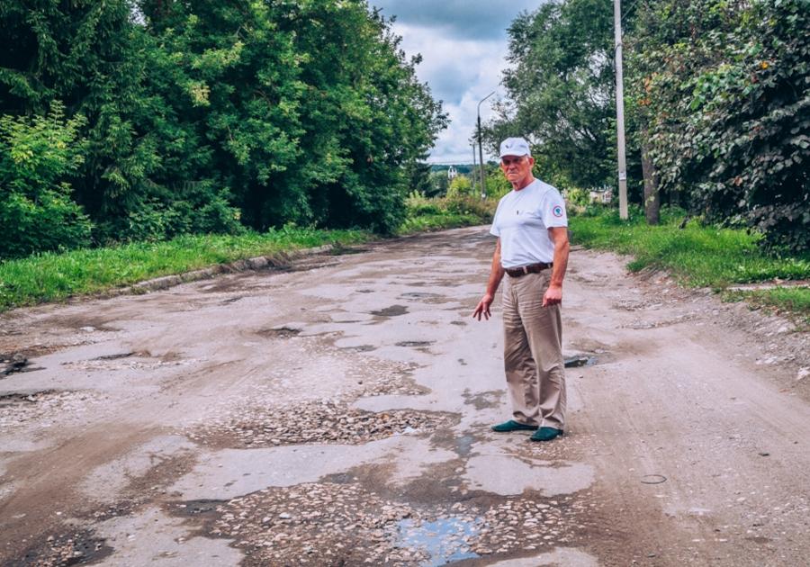 «Фронтовики» добились ремонта дорог в Кольчугино
