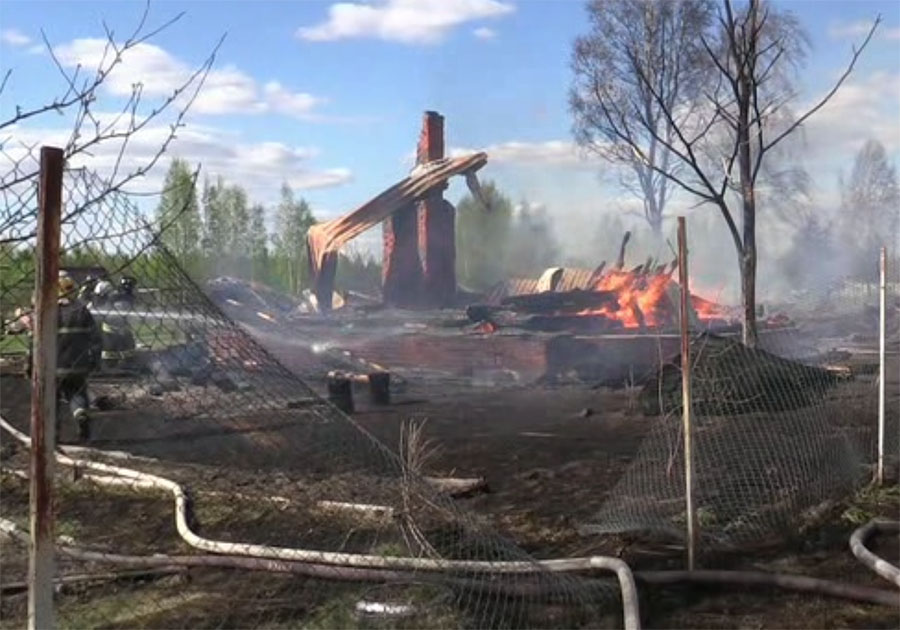 ВСудогодском районе впроцессе пожара погибли две женщины