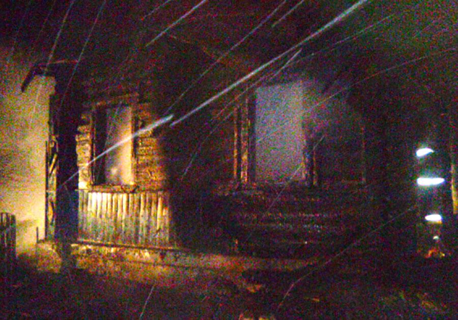 ВСобинском районе напожаре погибли многодетная мать идвухлетний ребенок