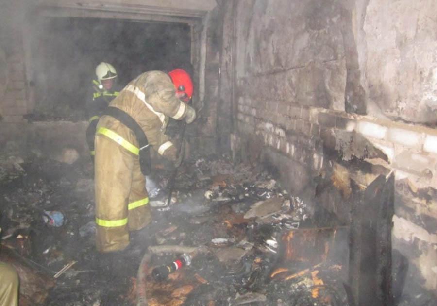 Вовремя пожара вКирове были спасены 10 человек
