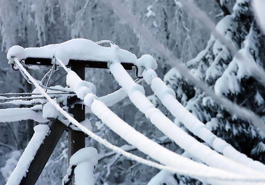 В 5-ти районах Владимирской области снег оборвал кабеля