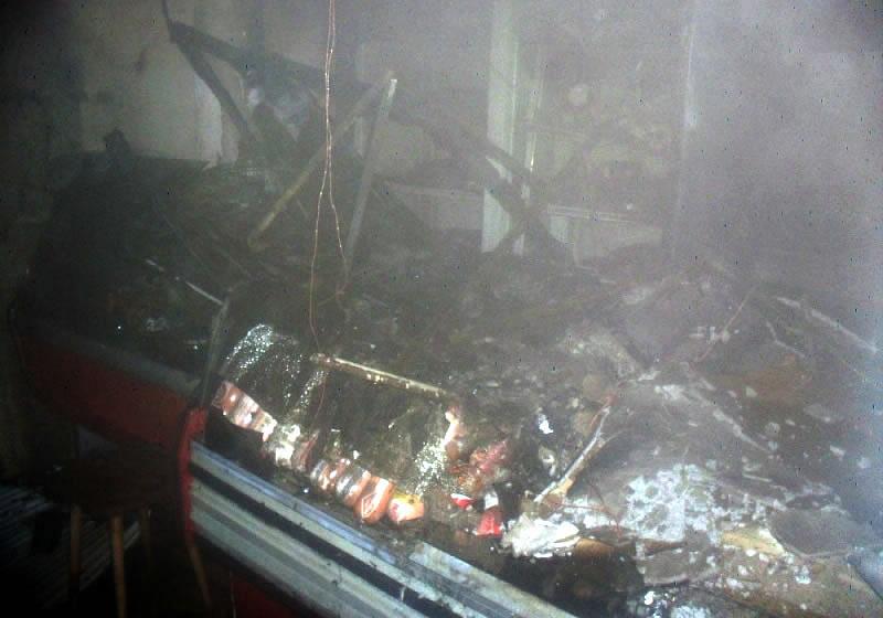 ВоВладимире ночью горел рынок наулице Чайковского