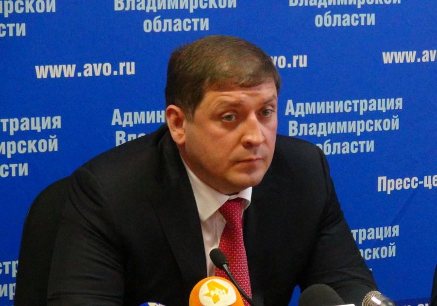 Прежний владимирский вице-губернатор останется под арестом до25декабря