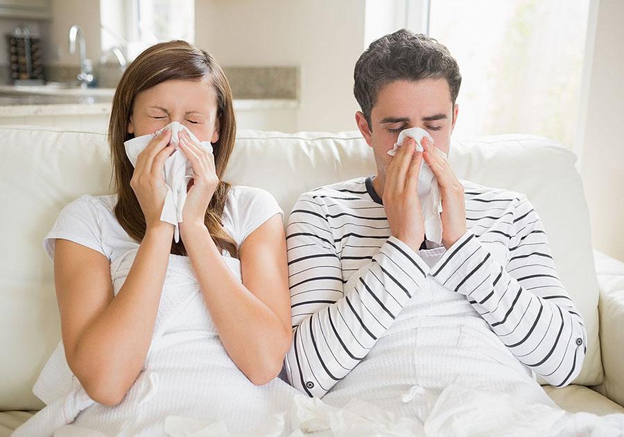 С начала декабря ОРВИ и гриппом заболели более четырех тысяч криворожан