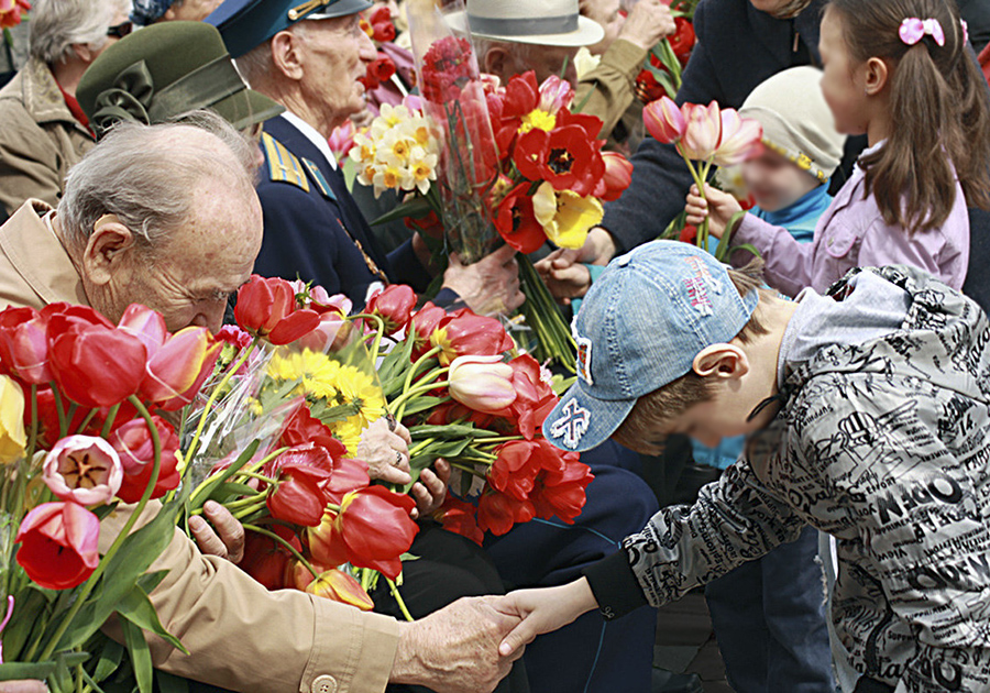 Поздравление ветеранам войны фото