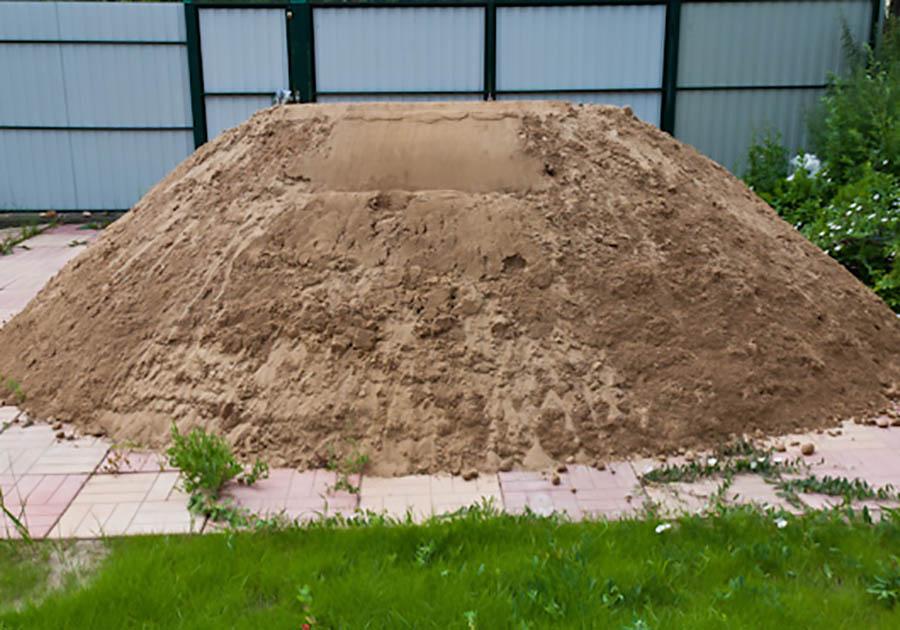 песок несортированный это