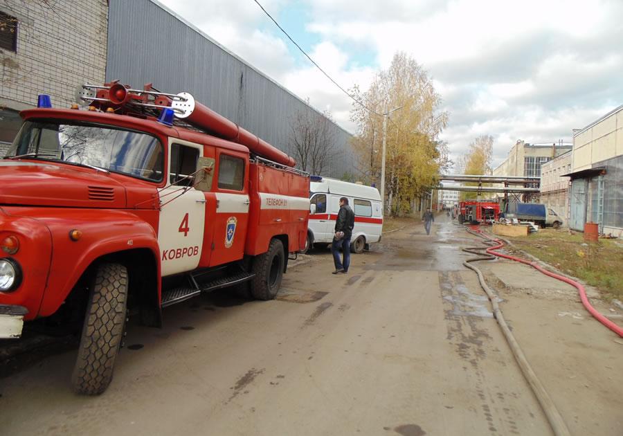 ВКоврове повине бизнесмена пострадали 6 человек