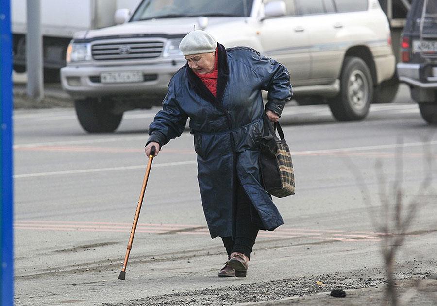 старушки на улице - 14