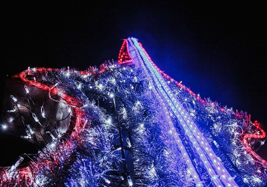 Мэрия готовит кНовому году самобытные инсталляции исветовые украшения
