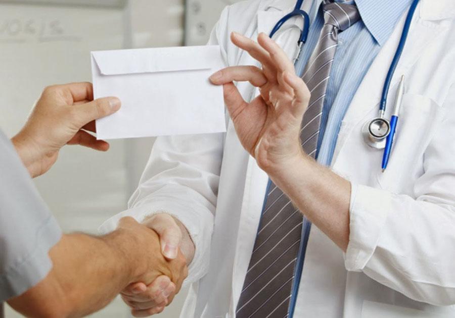 Кардиолог потребовала отпациентов деньги занаправление наоперацию