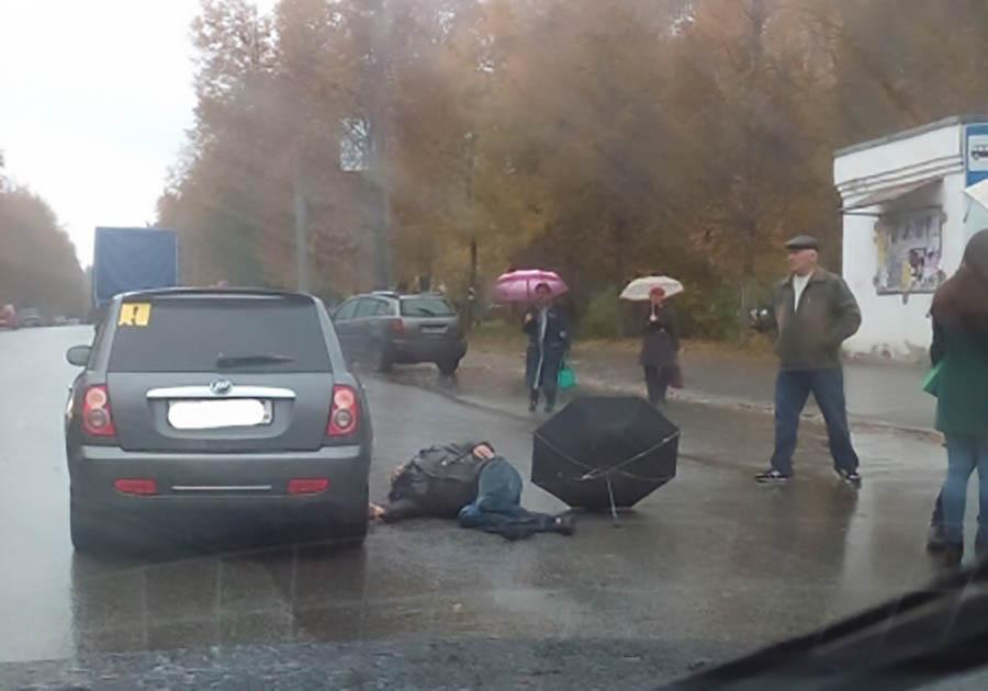 НаЛыбедской автодороги пролилась первая кровь