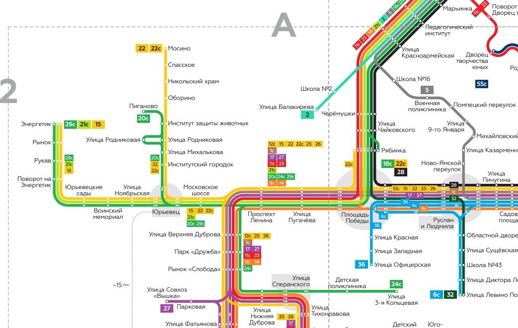 Владимирский общественный транспорт нарисовали по-новому новости.