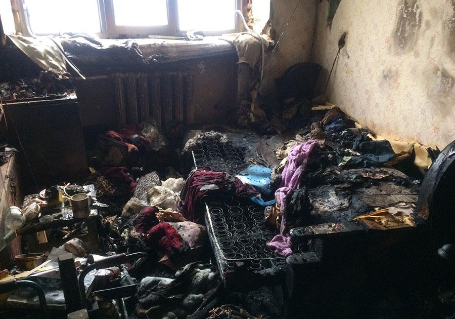 Напожаре вЭнергетике погибли две женщины