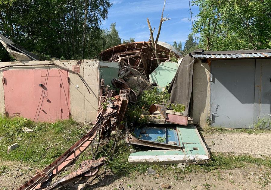 В Коврове развалилась телебашня