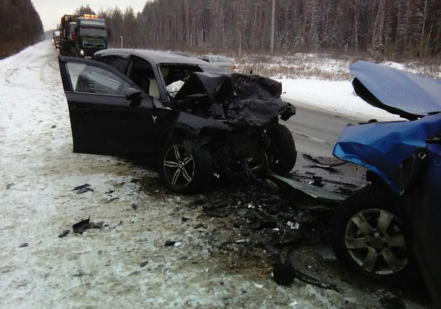 Авария с 2-мя погибшими намуромской дороге