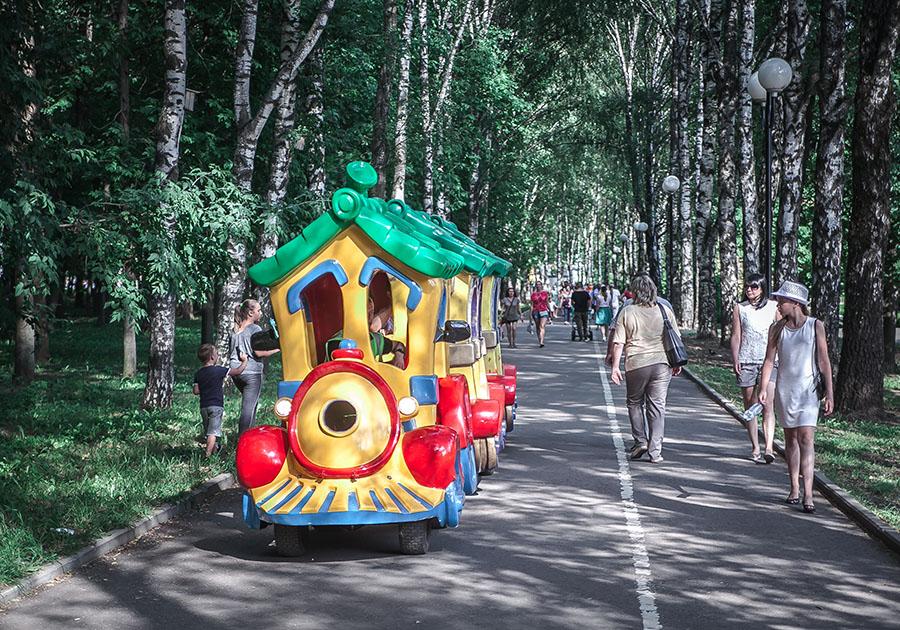 В основном парке Владимира состоится пенная вечеринка
