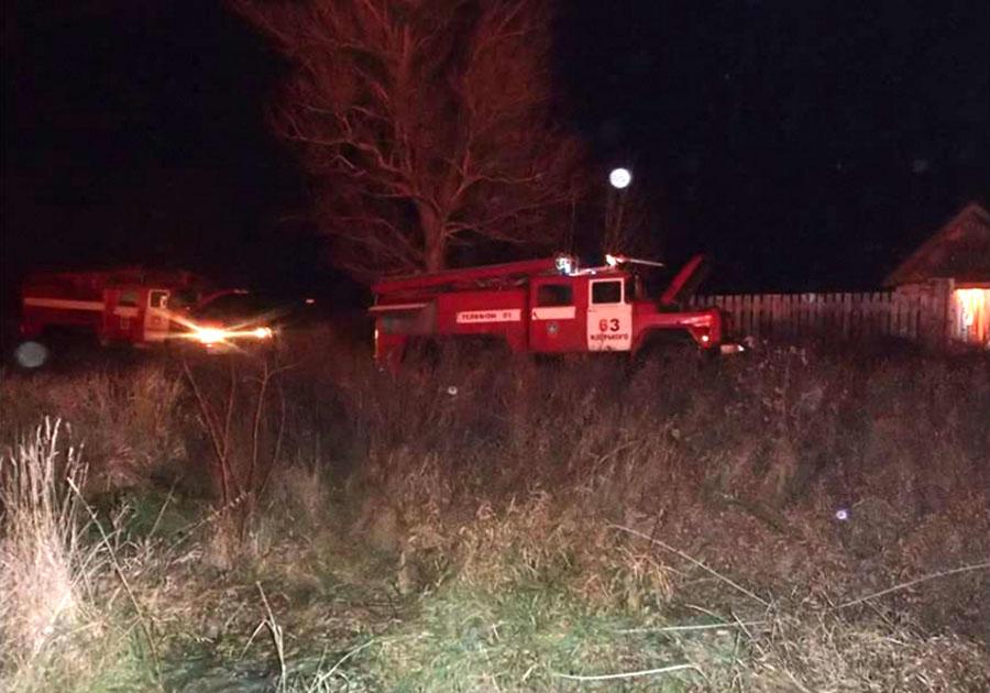 ВСудогодском районе напожаре умер мужчина